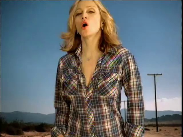 Madonna  Don't Tell Me [Official Music Video] HQ