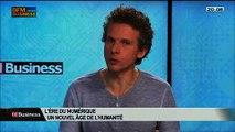 """""""l'Ère numérique, un nouvel âge de l'humanité"""": Gilles Babinet, dans 01Business - 22/02 1/4"""