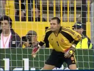 EURO 2000 Quarter final: Spain 1 France 2