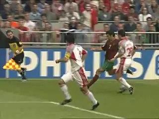 EURO 2000 Quarter Final: Portugal 2 Turkey 0