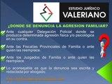 Estudio Juridico Valeriano - Violencia Familiar - Abogados - Derecho de Familia - Peru