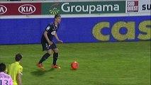 But Julien FAUBERT (52ème) - Girondins de Bordeaux - Evian TG FC - (2-1) - 22/02/14 - (FCGB-ETG)
