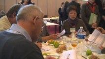 Salon de l'agriculture : Stéphane Le Foll visite le concours général agricole des produits