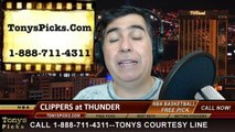 Oklahoma City Thunder vs. LA Clippers Pick Prediction NBA Pro Basketball Odds Preview 2-23-2014