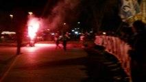 Contestazione tifosi Lazio - Libera la Lazio
