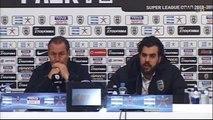 Συνέντευξη τύπου ΠΑΟΚ Vs Πανθρακικος - PAOK TV