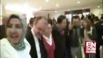 AK Parti teşkilat toplantısında Dombra halayı