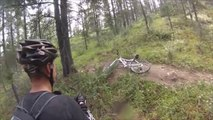 Grizzly Bluff Charges Two Mountain Bikers