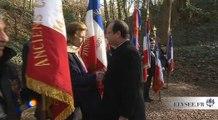 Cérémonie d'hommage à la Résistance au Mont-Valérien