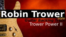 Rock Backing Track for Guitar in Pain Party G Minor - Trower Power II