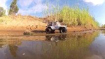 JRC Productions - SCX10 Suzuki Rocky Creek Trail Run