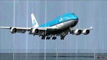 FS2004 - FS9 KLM Boeing 747 @ St.Maarten ( TNCM ) ( HD )
