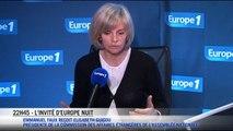 Emmanuel Faux reçoit Elisabeth GUIGOU présidente de la commission des affaires étrangères de l'Assemblée Nationale