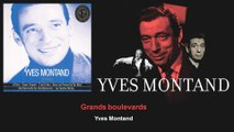 Yves Montand - Grands boulevards