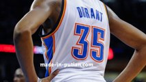 NBA Oklahoma City Thunder Kevin Durant Jersey Wholesale 35 Blue&White Home And Away Game Jersey Cheap Wholesale From China