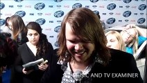 American Idol: Season 13 -- Caleb Johnson at Top 13 Finalists Party