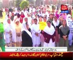 PIMS hospital staff protests