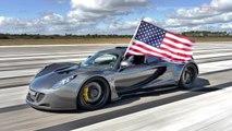 Record du monde de vitesse pour la Hennessey Venom GT (435,31 km/h)