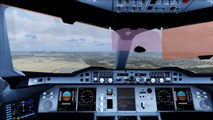 FSX A380 Full Cockpit Landing @ Dubai ( HD ) - video dailymotion