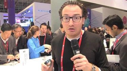 MWC 2014 - Samsung Gear Fit, une montre qui en impose