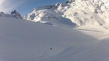 Col de Beugeant Gopro 2014 Aiguilles Rouges de Chamonix Mont-Blanc