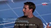 """Mark Zuckerberg : """"Whatsapp vaut plus de 19 milliards de dollars"""""""