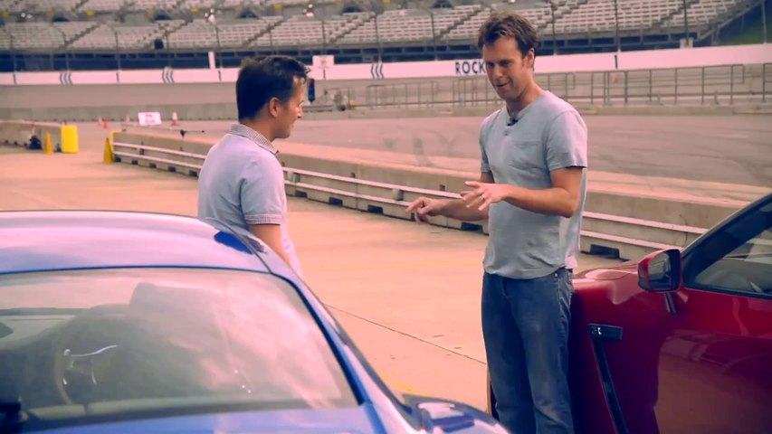 Porsche 911 Turbo S vs Nissan GT-R (2014) CAR video review