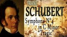 Schubert Jr - SCHUBERT- SYMPHONY NO  4 IN C MINOR, TRAGIC
