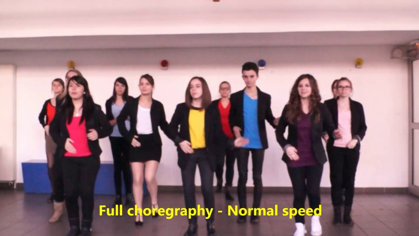 Flash Mob's Choregraphy - Full version -Normal Speed