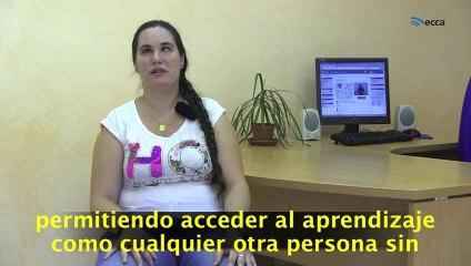 Testimonio de Silvia Monzón Viera, persona con ceguera total y colaboradora en este proyecto