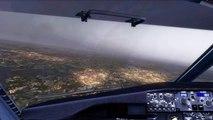 FSX Boeing 737 Amsterdam Schiphol Landing ( EHAM ) ( HD )