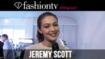 Jeremy Scott Fall/Winter 2014-15 Hair & Make-Up | New York Fashion Week NYFW | FashionTV