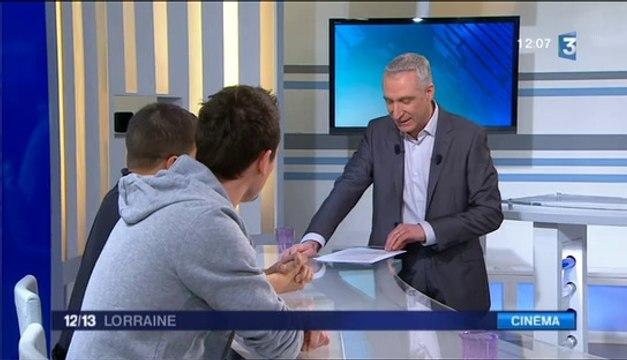 Présentation d'UNCHAINED au JT 12/13 Lorraine de France 3