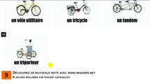 Learn French # Vocabulary # Les vélos