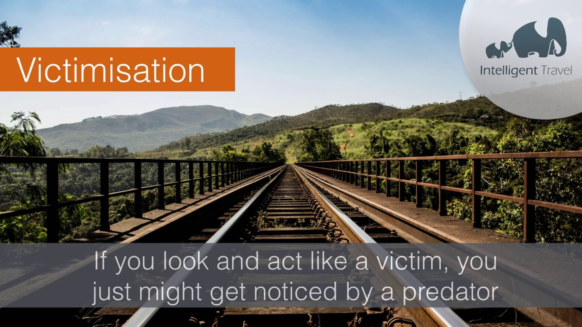 Travel Security Tip: Victimisation by Intelligent Travel
