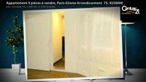 Appartement 4 pièces à vendre, Paris 02eme Arrondissement  75, 925000€