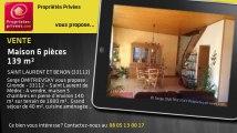 A vendre - maison - SAINT LAURENT ET BENON (33112) - 6 pièces - 139m²