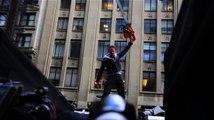 Ian Ziering tourne Sharknado 2 à New York