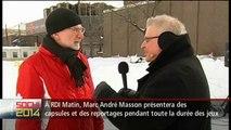 Entrevue d'Hubert T. Lacroix avec Louis Lemieux à RDI Matin