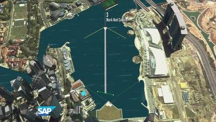 Replay Singapore: Day three - Extreme Sailing Series™ 2014