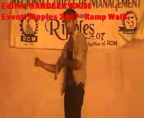 Ripples 2007  Ramp Walk by RCM Students | RCM MBA Students | MBA College India