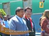 El alcalde de la provincia de Tacna, Fidel Carita no asistió a la fiscalía para responder la denuncia que le hizo un ex sereno de la municipalidad quien trabajó como vigilante de su casa.