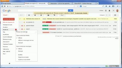 Gmail : Les libellés