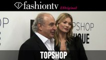 Kate Moss at Topshop Unique Fall/Winter 2014-15 Arrivals | London Fashion Week LFW | FashionTV