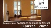 Vente - appartement - BAGNERES DE BIGORRE (65200)  - 70m²