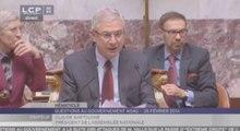 """Bartolone dit """"déplorer"""" le boycott des députés UMP"""