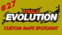 Trials Evolution: Custom Maps Spotlight # 27 - Happy Wheels: Jet Fall