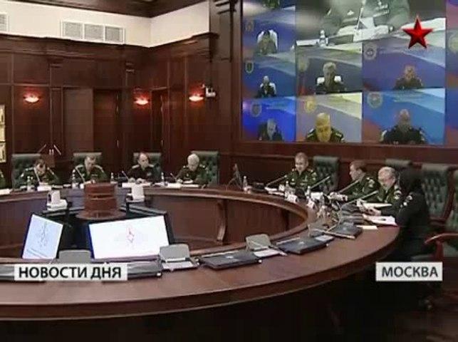 Войска в боевой готовности Россия февраль 2014