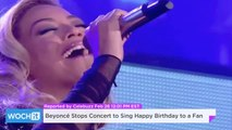 Beyoncé Stops Concert To Sing Happy Birthday To A Fan