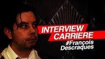FRANCOIS DESCRAQUES (le visiteur du futur / interview)